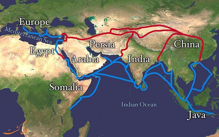 جاده ابریشم، راهی برای گسترش تمدن از ابتدای تجارت تا عصر اکتشاف