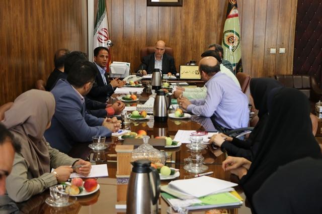 جلسه آنالیز اقدامات نظارتی و کنترلی بر قاچاق اموال تاریخی و صنایع دستی برگزار گردید