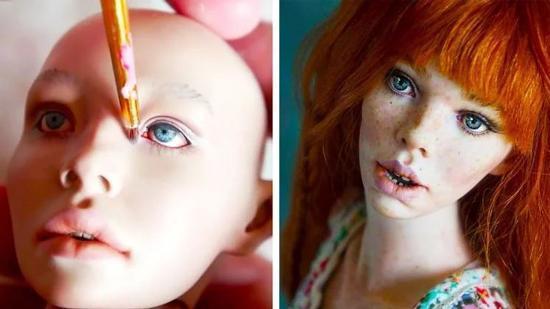 واقعی ترین عروسک هایی که تا به حال دیده اید