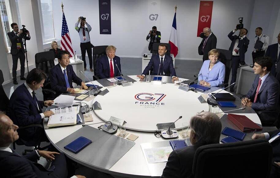 تحلیل گاردین از نشست سال جاری جی7 ، نشست بعدی بعد از ترامپ برگزار گردد