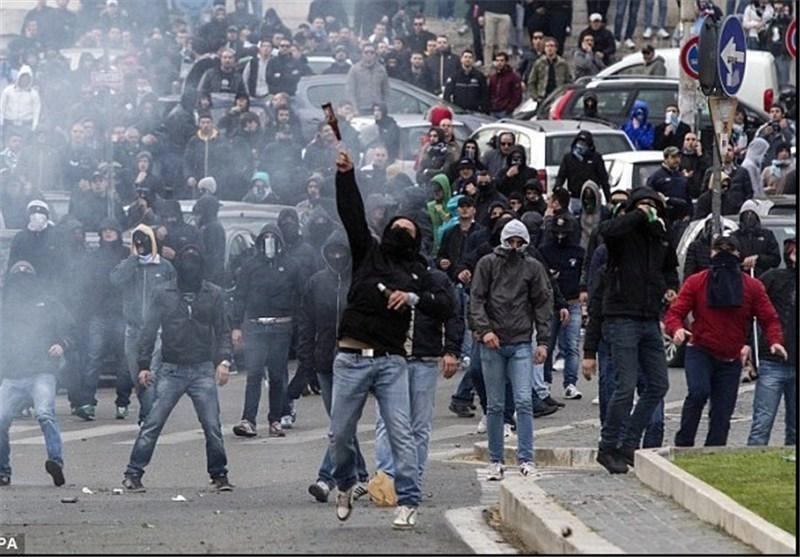 طرفداران چلسی در رم مورد ضرب و شتم قرار گرفتند