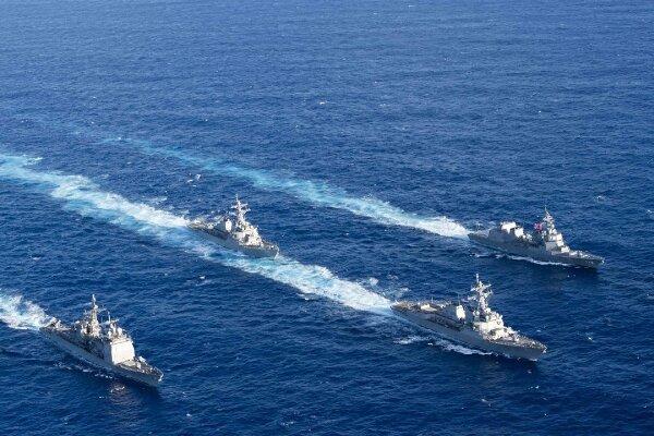 آمریکا و استرالیا در دریای چین جنوبی رزمایش برگزار کردند