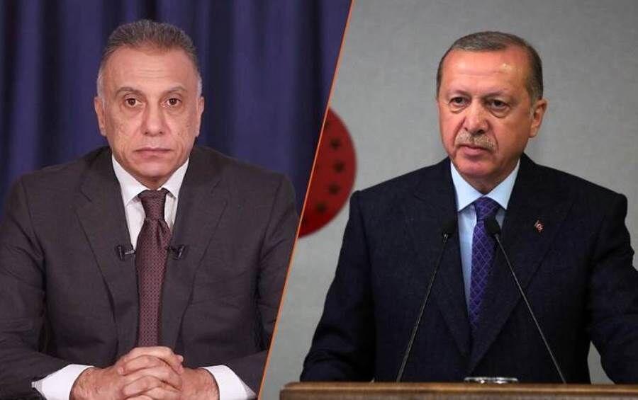 اعلام حمایت همه جانبه اردوغان از الکاظمی